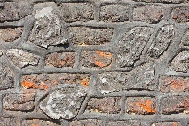Παλαιός τοίχος ασβεστόλιθων άνευ ραφής στοκ εικόνες
