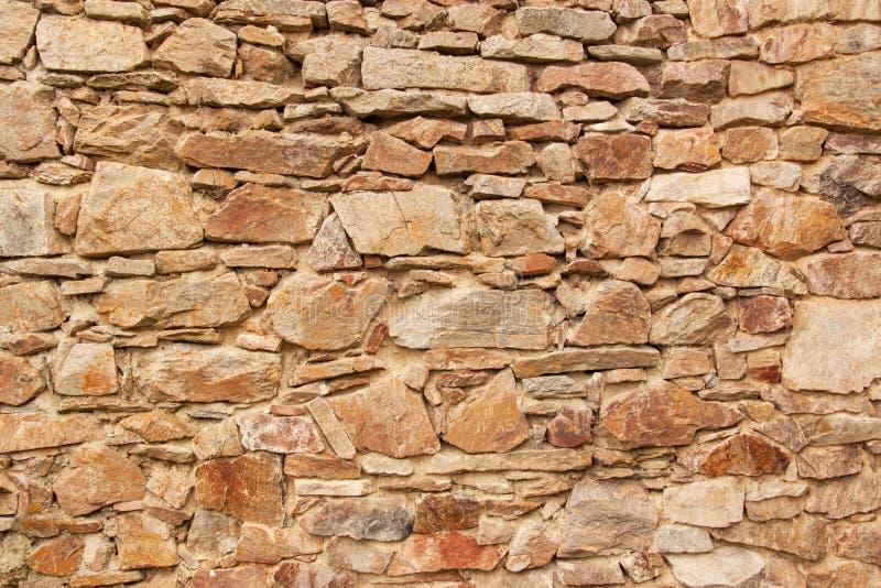 Παλαιός τοίχος πετρών Τοίχος του κάστρου από το 13ο αιώνα Θέση για το κείμενό σας στοκ φωτογραφίες με δικαίωμα ελεύθερης χρήσης