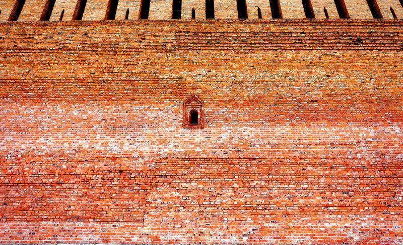Παλαιός τοίχος τούβλου φωτογραφιών στοκ εικόνα με δικαίωμα ελεύθερης χρήσης