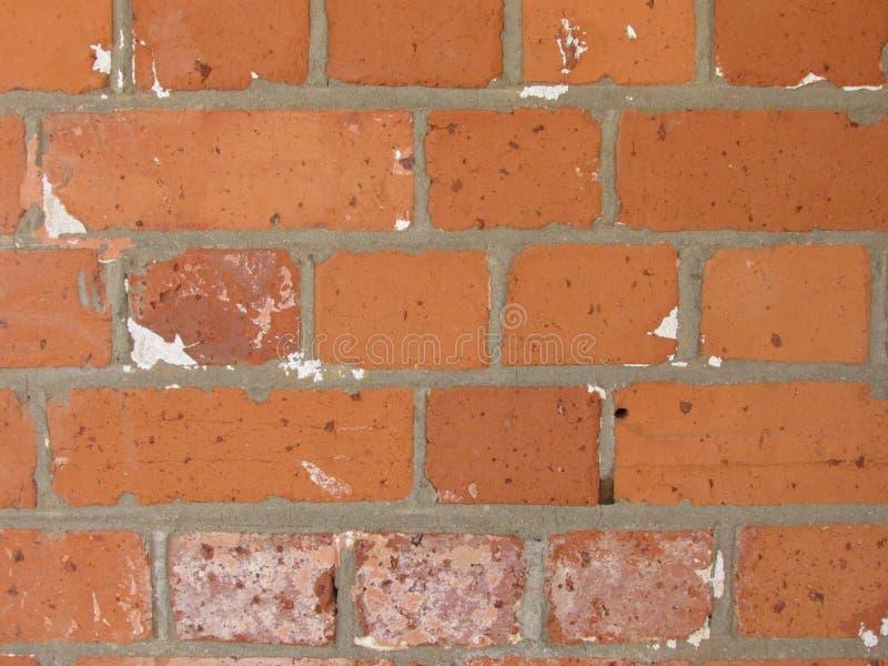 Παλαιός τούβλινος τοίχος του σπιτιού backround στοκ φωτογραφία με δικαίωμα ελεύθερης χρήσης