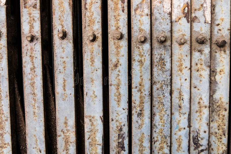 παλαιός χάλυβας πορτών στοκ φωτογραφίες με δικαίωμα ελεύθερης χρήσης