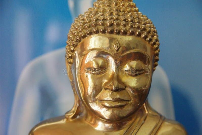 Παλαιό άγαλμα του Βούδα χαλκού ύφους στοκ φωτογραφίες με δικαίωμα ελεύθερης χρήσης