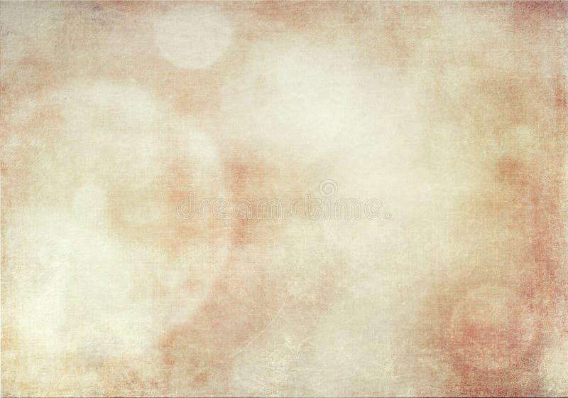 Παλαιό έγγραφο σύστασης υποβάθρου grunge bokeh διανυσματική απεικόνιση