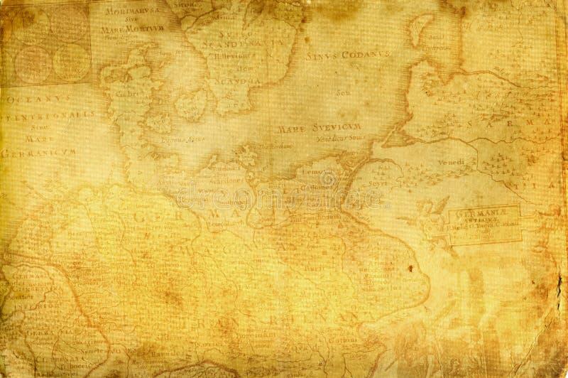 Παλαιό έγγραφο. απεικόνιση αποθεμάτων