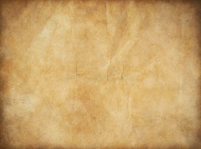 Παλαιό έγγραφο Grunge για το χάρτη ή τον τρύγο θησαυρών στοκ φωτογραφία με δικαίωμα ελεύθερης χρήσης