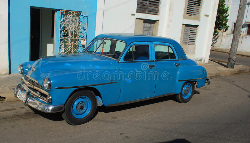 Παλαιό αυτοκίνητο, Cienfuegos, Κούβα στοκ φωτογραφίες