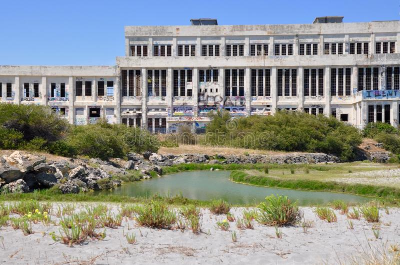 Παλαιό εγκαταλειμμένο σπίτι δύναμης: Fremantle, δυτική Αυστραλία στοκ εικόνα με δικαίωμα ελεύθερης χρήσης
