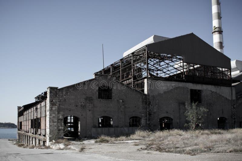 Παλαιό εργοστάσιο στοκ φωτογραφία με δικαίωμα ελεύθερης χρήσης