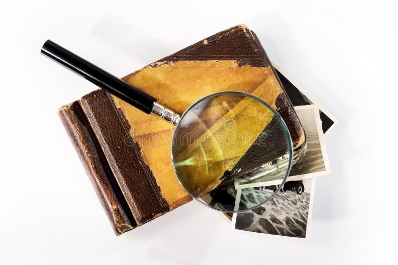 Παλαιό λεύκωμα φωτογραφιών στοκ φωτογραφία με δικαίωμα ελεύθερης χρήσης