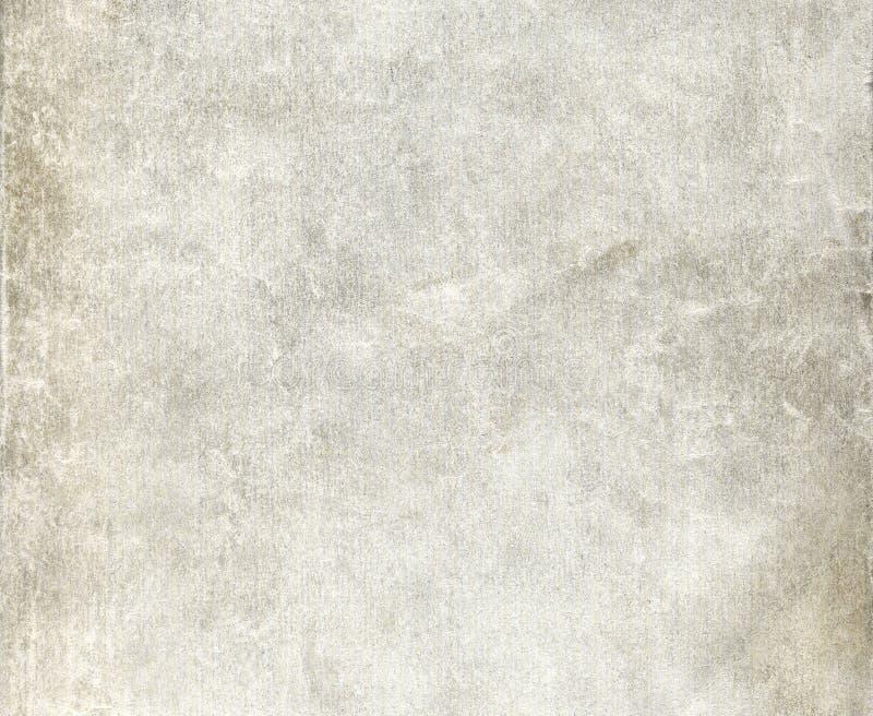 Παλαιό ζαρωμένο βρώμικο γκρίζο φύλλο εγγράφου στοκ εικόνες