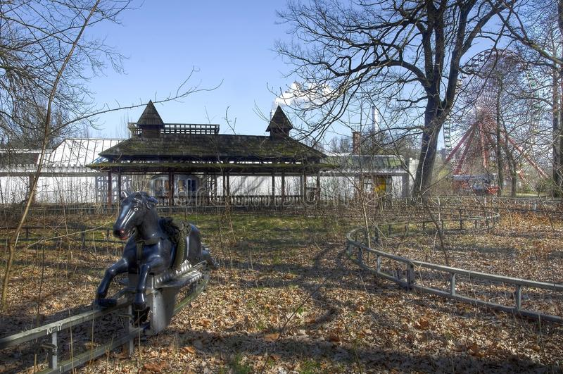 Παλαιό θεματικό πάρκο στοκ φωτογραφία