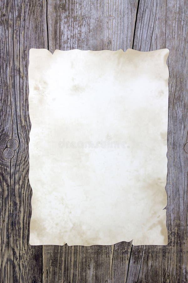 παλαιό διάνυσμα φύλλων εγγράφου απεικόνισης στοκ εικόνες
