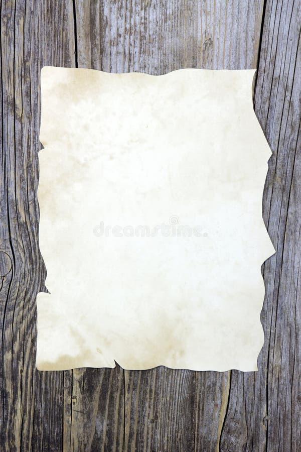 παλαιό διάνυσμα φύλλων εγγράφου απεικόνισης στοκ εικόνα με δικαίωμα ελεύθερης χρήσης
