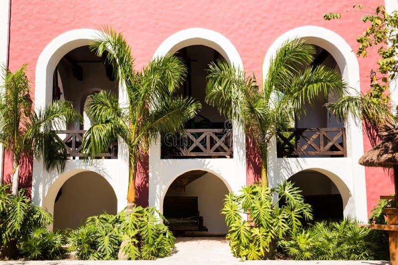 Παλαιό ισπανικό hacienda στοκ φωτογραφία