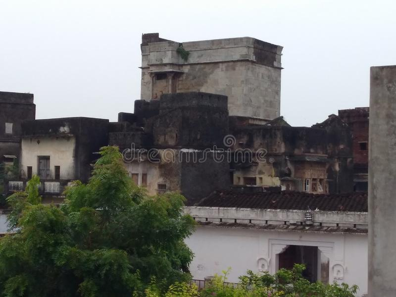 Παλαιό ιστορικό κτήριο haveli στοκ φωτογραφίες