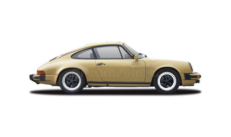 Παλαιό κλασικό αυτοκίνητο Porsche 911 στοκ φωτογραφία