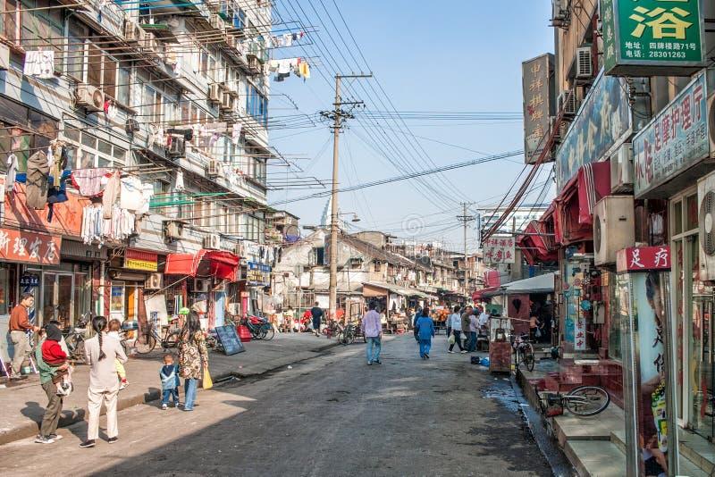 Παλαιό μέρος της Σαγκάη στοκ εικόνες