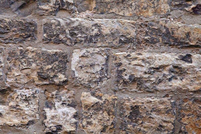 Παλαιό μεσαιωνικό υπόβαθρο τοίχων πετρών στοκ εικόνες