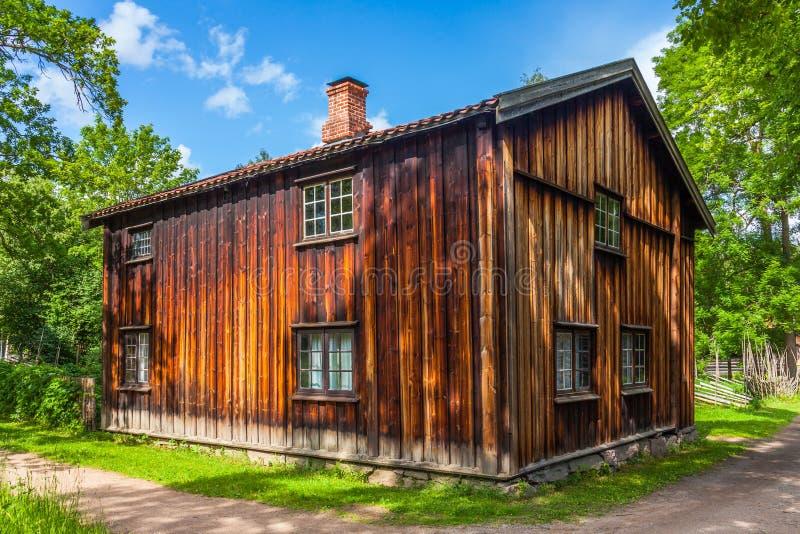 Παλαιό νορβηγικό σπίτι στοκ φωτογραφία με δικαίωμα ελεύθερης χρήσης