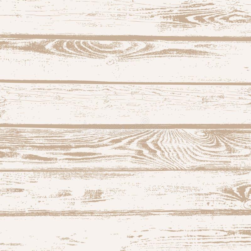 Παλαιό ξύλινο σιταριού υπόβαθρο σύστασης σανίδων διανυσματικό ελεύθερη απεικόνιση δικαιώματος