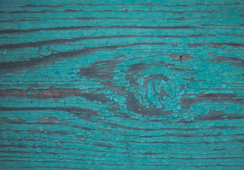 Παλαιό ξύλινο χρώμα aquamarine πινάκων στοκ φωτογραφία με δικαίωμα ελεύθερης χρήσης