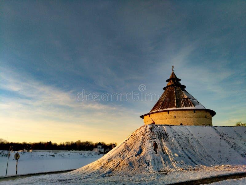 Παλαιό οχυρό στοκ εικόνα με δικαίωμα ελεύθερης χρήσης