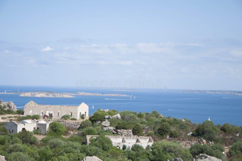 Παλαιό οχυρό nord Σαρδηνία στοκ φωτογραφία με δικαίωμα ελεύθερης χρήσης