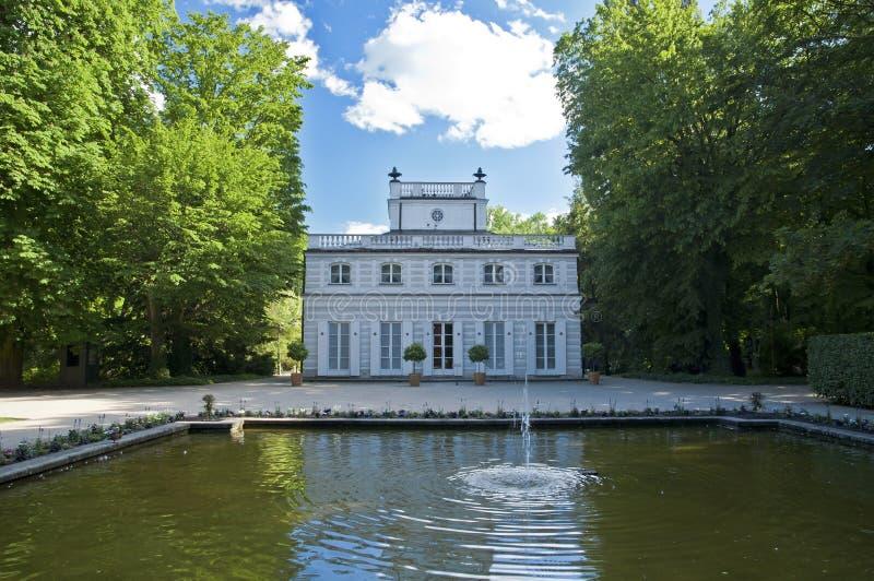 Παλαιό πάρκο της Βαρσοβίας στοκ φωτογραφίες