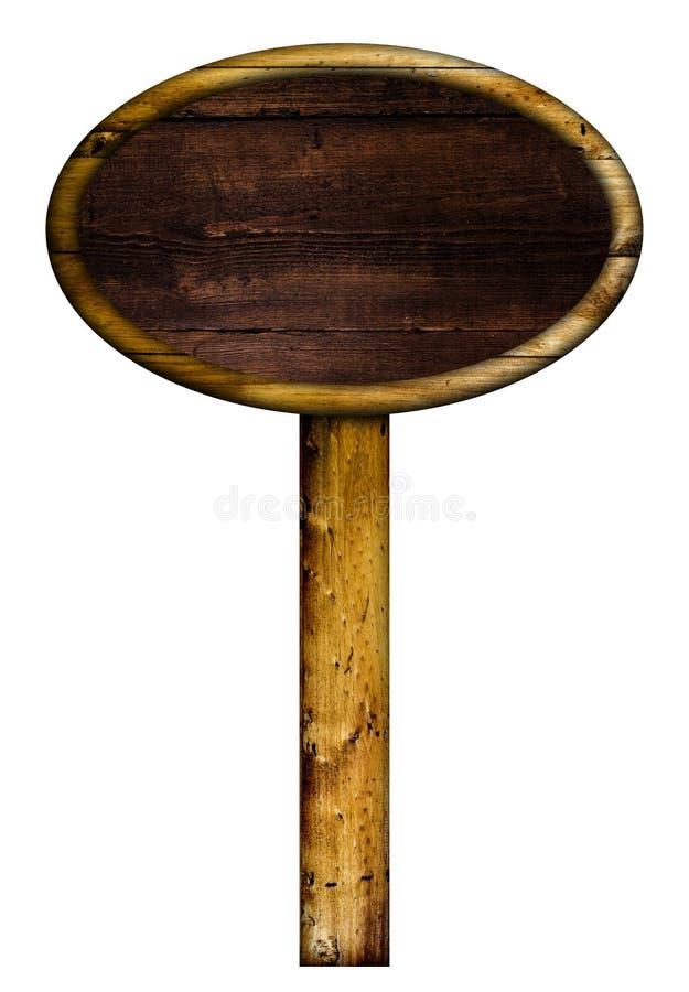 παλαιό σημάδι ξύλινο στοκ φωτογραφίες