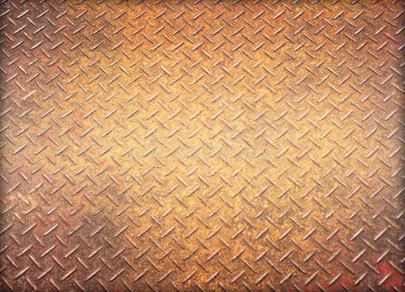 Παλαιό σκουριασμένο φύλλο σιδήρου στοκ εικόνα με δικαίωμα ελεύθερης χρήσης