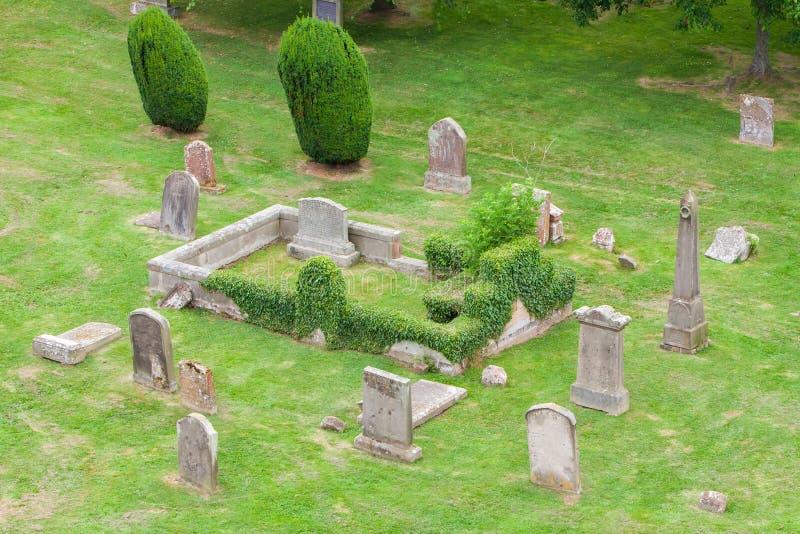 Παλαιό σκωτσέζικο νεκροταφείο στοκ φωτογραφίες
