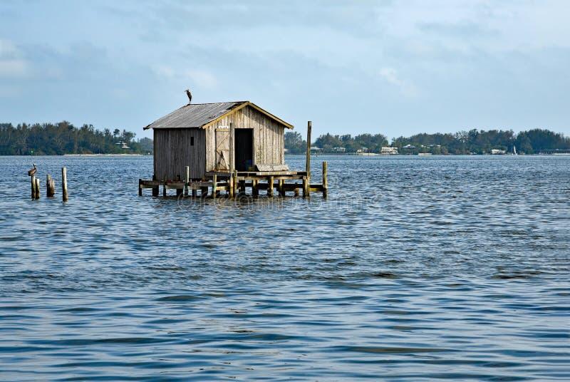 Παλαιό σπίτι αλιείας στοκ φωτογραφία