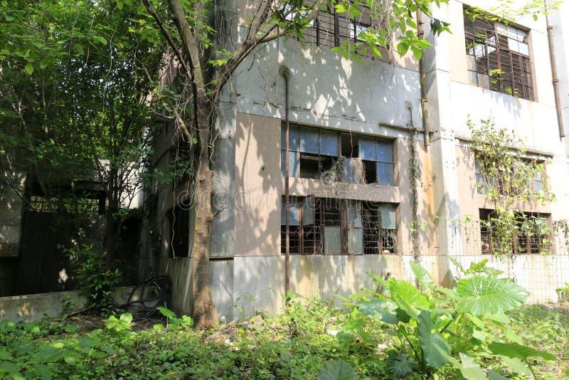 Παλαιό σπίτι εργοστασίων στο redtory δημιουργικό κήπο, guangzhou, Κίνα στοκ εικόνες