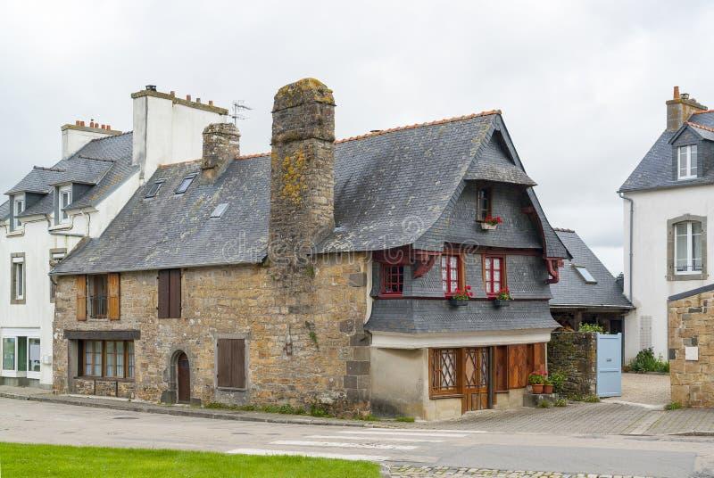 Παλαιό σπίτι σε LE Faou στοκ εικόνα με δικαίωμα ελεύθερης χρήσης