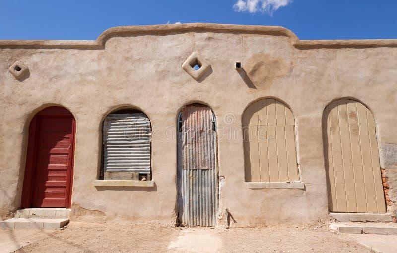 Παλαιό σπίτι του Tucson στοκ εικόνες με δικαίωμα ελεύθερης χρήσης