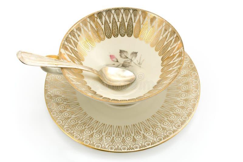 παλαιό τσάι πορσελάνης φλ&u στοκ φωτογραφίες με δικαίωμα ελεύθερης χρήσης