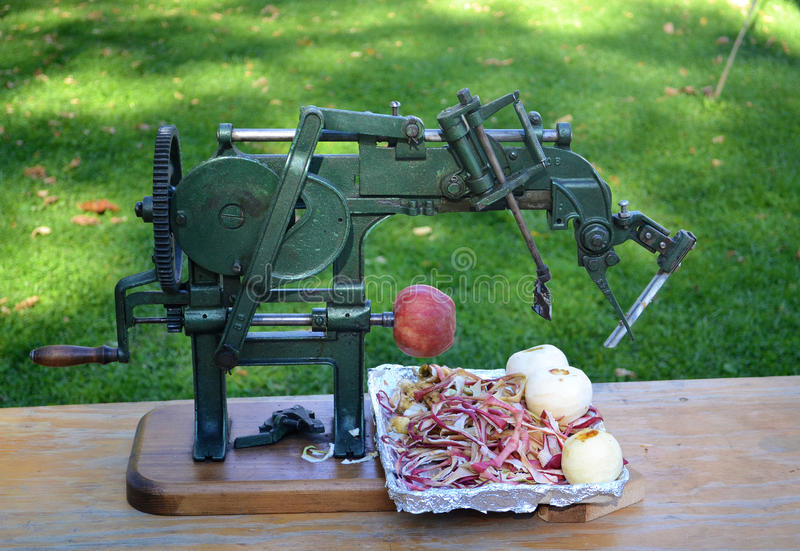 Παλαιό peeler μήλων στοκ εικόνα