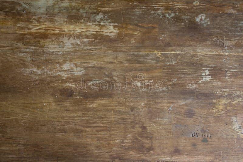 Παλαιό shabby ξύλινο tabletop υπόβαθρο στοκ εικόνες