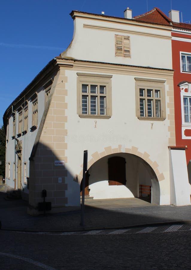 Παλαιό townhouse στοκ εικόνα