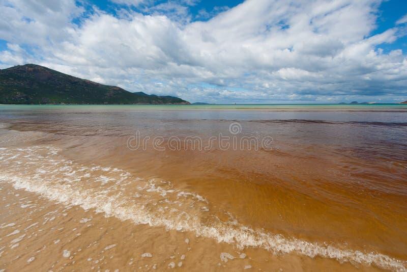 Παλιρροιακό τοπίο παραλιών ποταμών, εθνικό πάρκο ακρωτηρίων Wilsons, Α στοκ φωτογραφία με δικαίωμα ελεύθερης χρήσης