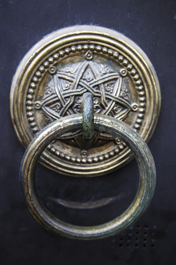 Παλιό σχολείο Οθωμανός doorknop στοκ φωτογραφίες με δικαίωμα ελεύθερης χρήσης