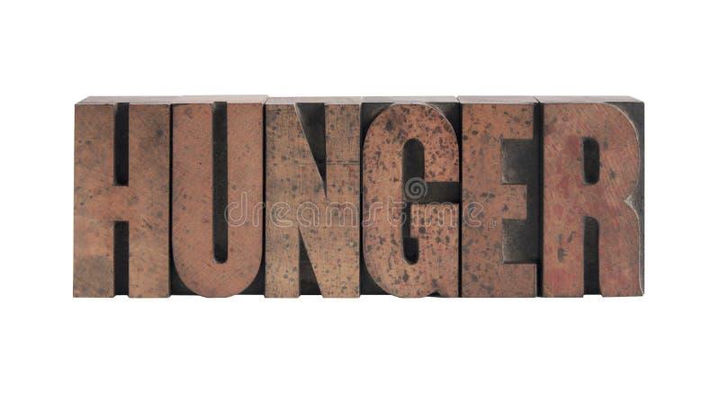 πείνα διανυσματική απεικόνιση