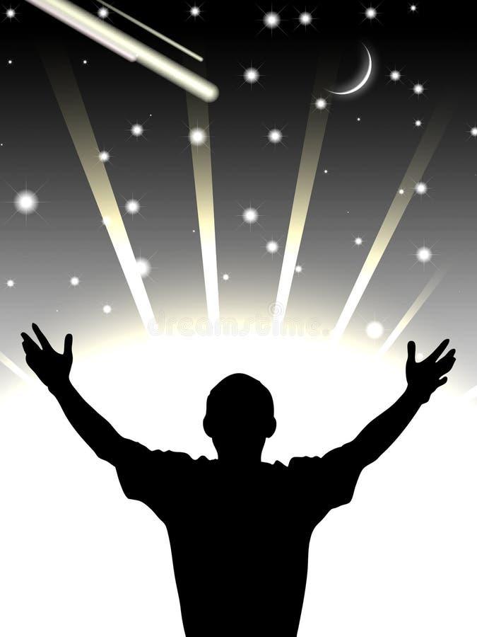 πεδίο που φαίνεται αστέρι ατόμων στοκ φωτογραφία με δικαίωμα ελεύθερης χρήσης