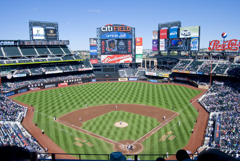 Πεδίο Citi, 'Οικία' του Mets στοκ εικόνα με δικαίωμα ελεύθερης χρήσης