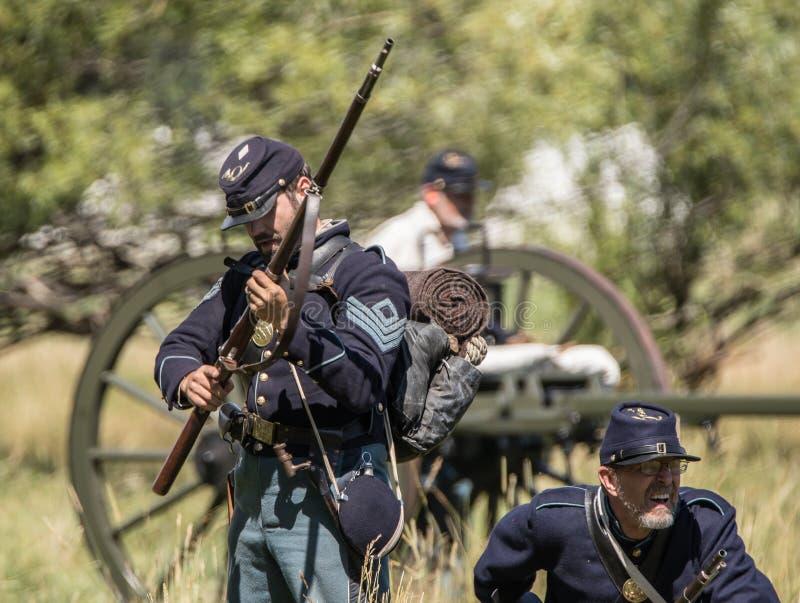 Πεζικό στρατού ένωσης στοκ εικόνες με δικαίωμα ελεύθερης χρήσης