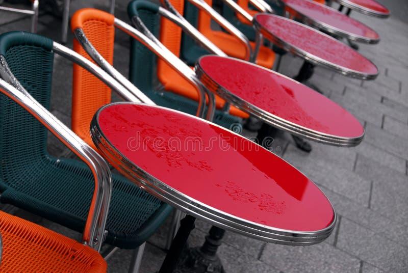 Download πεζοδρόμιο καφέδων στοκ εικόνες. εικόνα από patio, χρώμα - 1535210