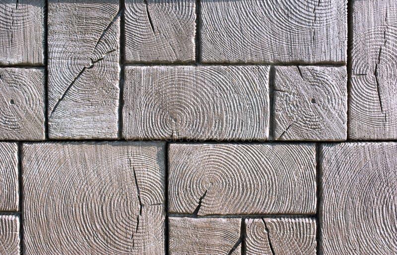 πεζοδρόμιο ξύλινο στοκ εικόνες