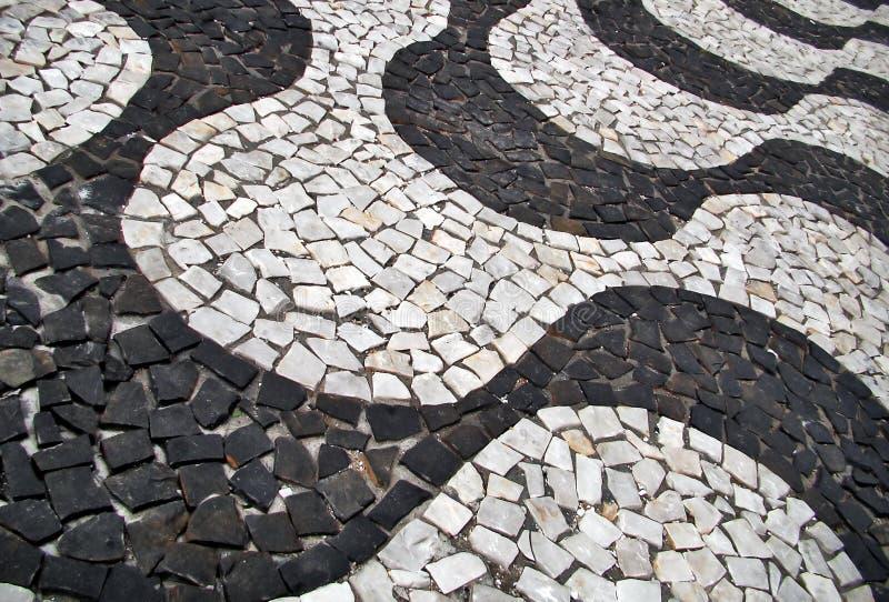 πεζοδρόμιο της Βραζιλία&sig στοκ φωτογραφίες