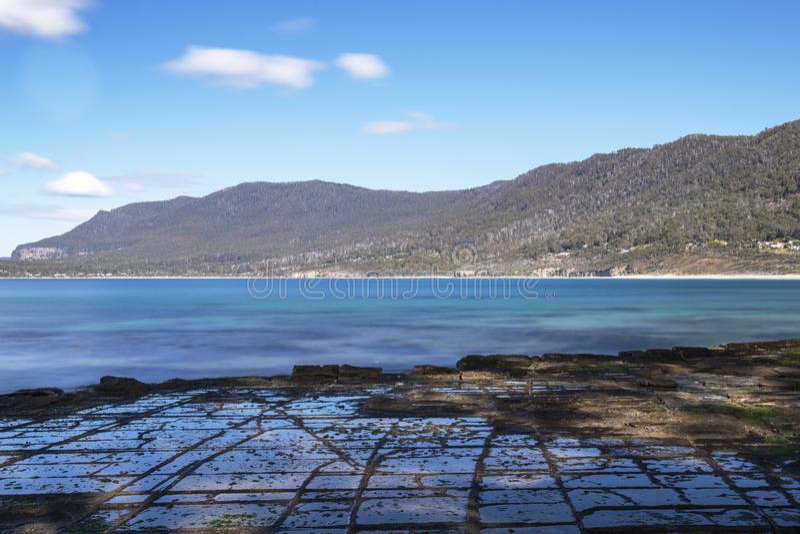 Πεζοδρόμιο Tessellated στον κόλπο πειρατών στοκ φωτογραφία με δικαίωμα ελεύθερης χρήσης