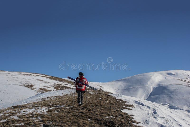 Πεζοπορία στα βουνά της Shar στοκ φωτογραφίες